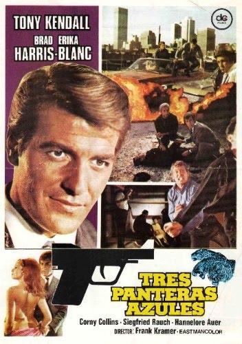 Tres Panteras Azules (1968)