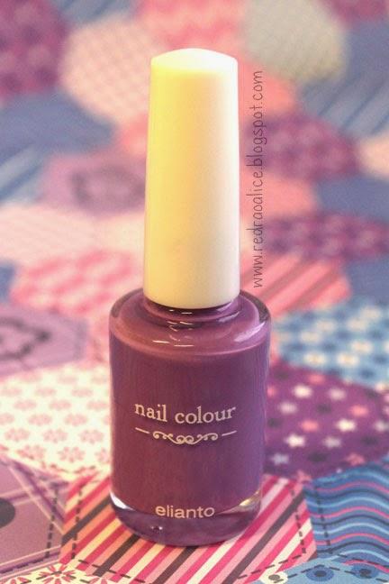 Elianto, nail polish, nail color, Radiant Orchid, Nail art lover, Pretty hands, Nail polish in Malaysia, Radiant Orchid Nail color