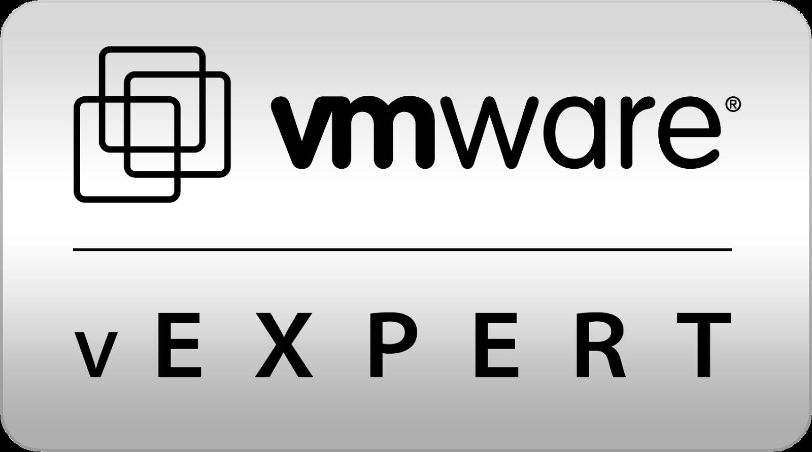 vExpert 2016 Award