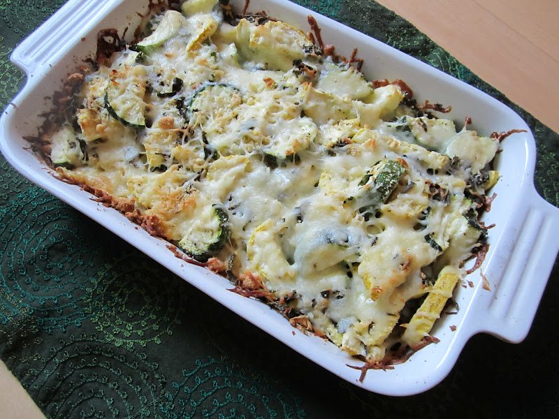 found this lovely little recipe for baked zucchini. Baked zucchini ...