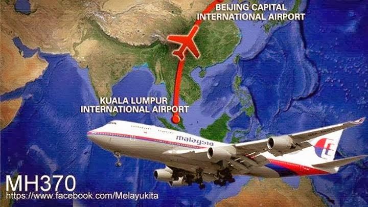 Pantauan Pentagon Tiada Letupan Pesawat di Laut China Selatan!