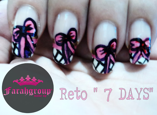 desafio de nail art, lady french, nail art designs
