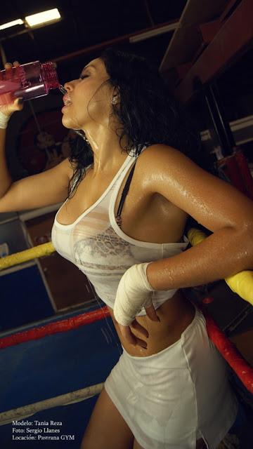Tania Reza desnuda Revista Playboy México Enero 2016 [FOTOS] 9