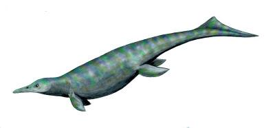 reptiles marinos prehistoricos Utatsusaurus