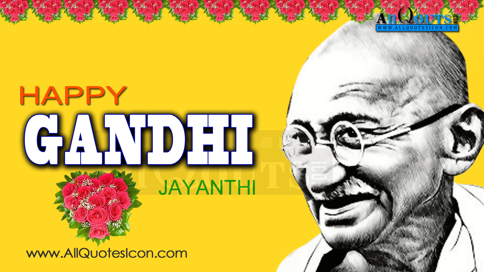 Happy Gandhi Jayanthi Greetings And Hd Pictures Best English Quotes