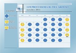 Calendário Escolar Outubro 2014
