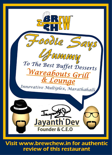 Wareabouts Grill And Lounge Award Certificate