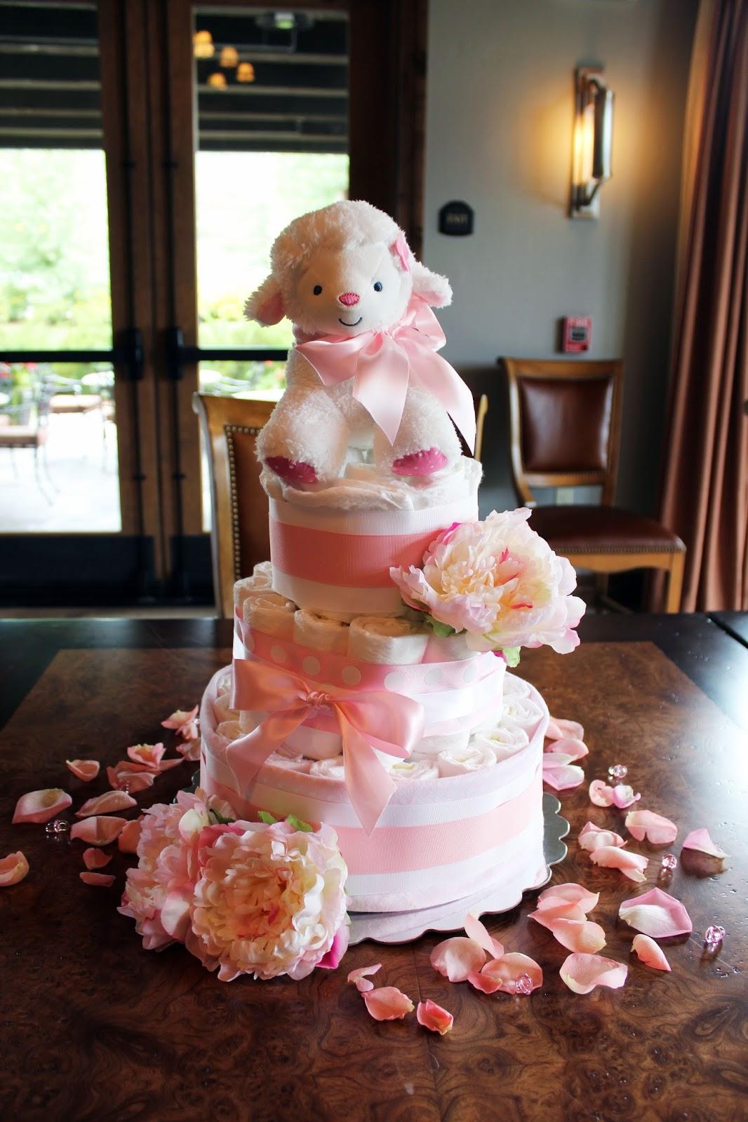 Baby Lamb Cake Topper