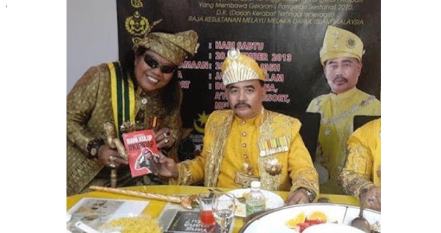 """Sultan Melaka"" Gila, Anugerah ""Datuk"" Tak Laku, kata Ketua Menteri"