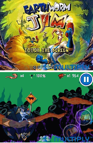 livome: Earthworm Jim Full Touchscreen 240 x 320 GAMES318