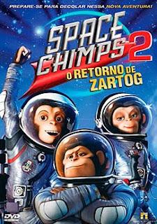 Filme Poster Space Chimps 2 - O Retorno de Zartog DVDRip XviD Dual Audio & RMVB Dublado
