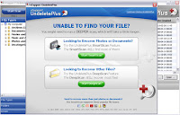 Download Undelete Plus software,recover your files , recover documents,recover videos , recover your deleted data ,Data Recovery,
