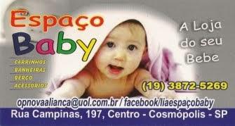 ESPAÇO BABY COSMÓPOLIS A LOJA DO SEU BEBÊ