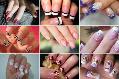 FOTOS DE UNHAS DECORADAS 2012