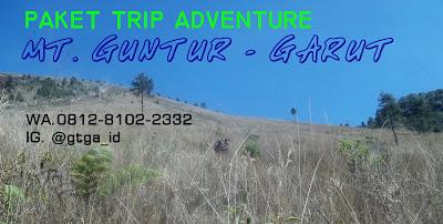 Open Trip Murah Pendakian Mt Guntur Garut