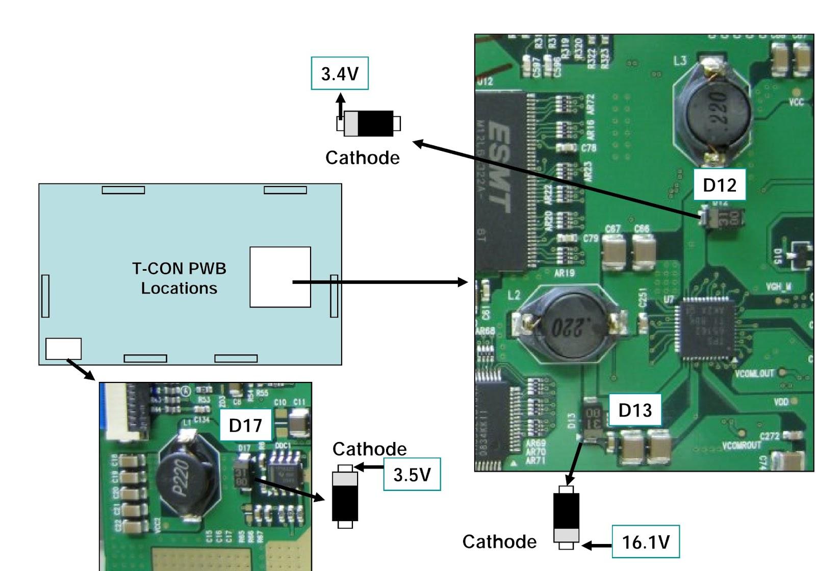 lg 47lg90 led lcd tv t con board voltage check fuse Vizio T-Con Board Samsung T-Con Board Replacement Un60fh6003f