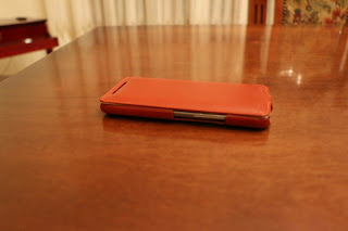 Foto 6 cover HTC One M9 StilGut in pelle cognac