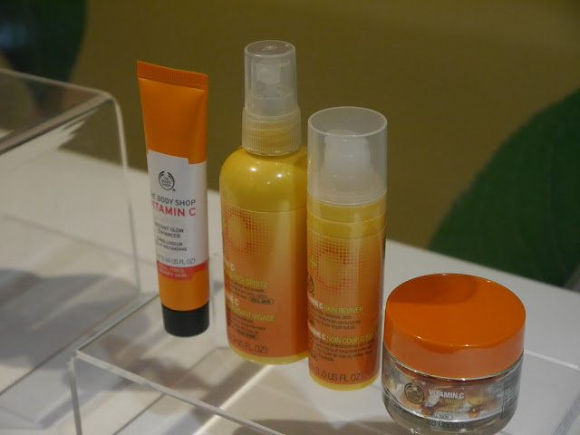THE BODYSHOP VITAMIN C RANGE