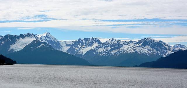 snowcapped mountains Alaska