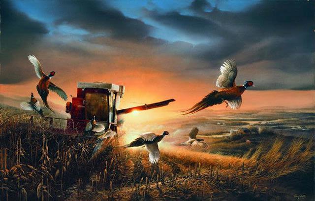 Birds - Artist Terry Redlin | DANCES WITH COLORS