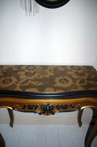 ghost furniture lace effect