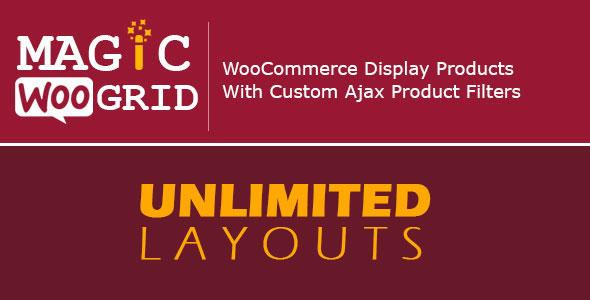 Free Download Wordpress Plugin WooCommerce Grid V4.1 Display Product + AJAX Filter