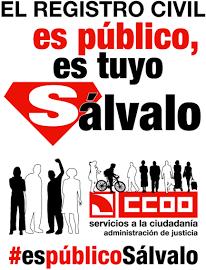 CCOO exige a Rajoy la retirada de la privatización del Registro Civil