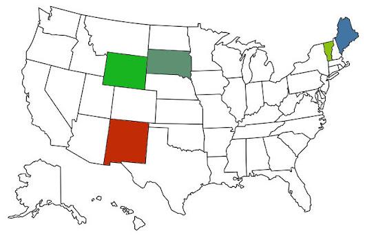 5 Remaining Sub-3-hour States
