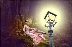 Tutorial Cara Membuat Efek Cahaya Lampu Pada Photoshop Bahasa Indonesia