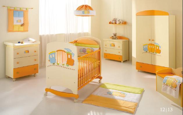 Magnífico Muebles De Color Crema Cunas Bandera - Muebles Para Ideas ...