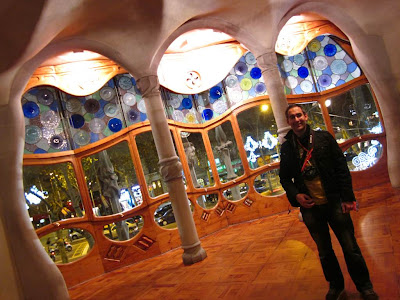 Noble floor of Casa Batlló