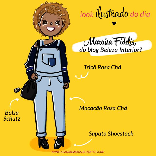 desenho, desenho personalizado, desenho para blog, ilustração, ilustradora Kênia Lopes, header ilustrado, cabeçalho para blog