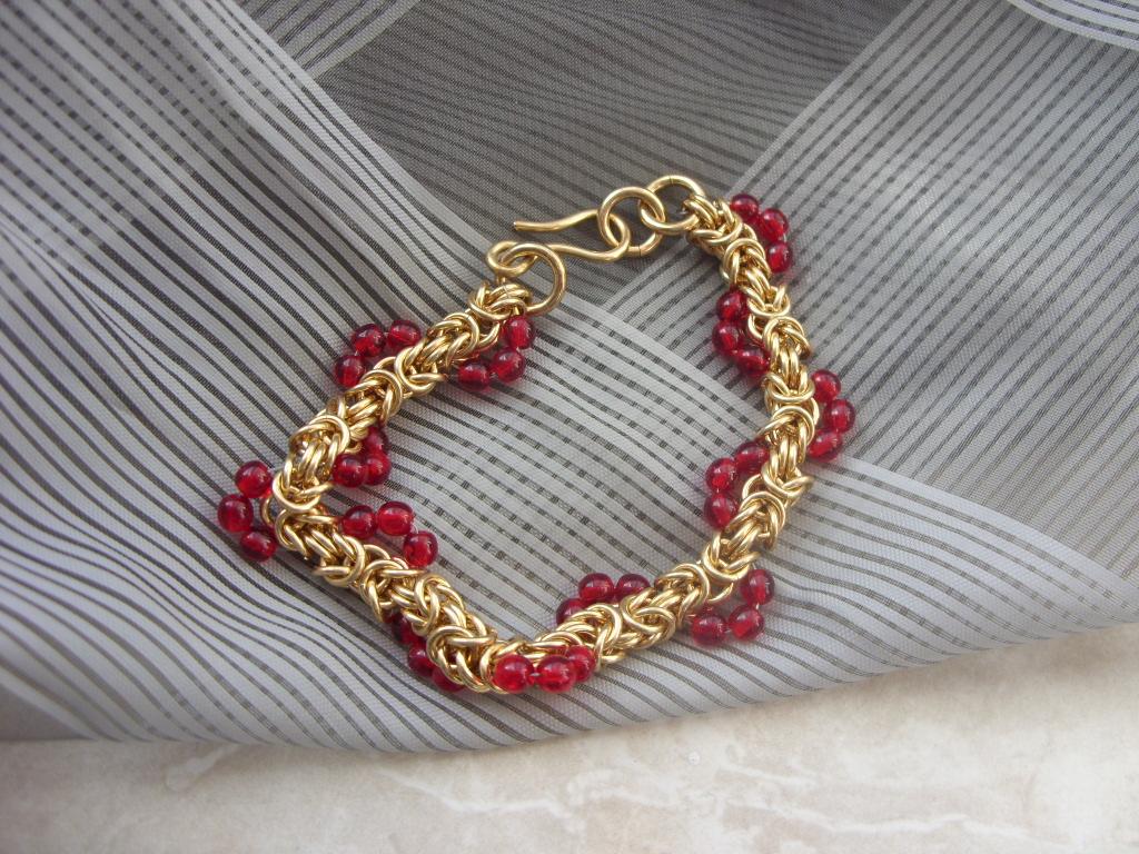 byzantiner armband gold