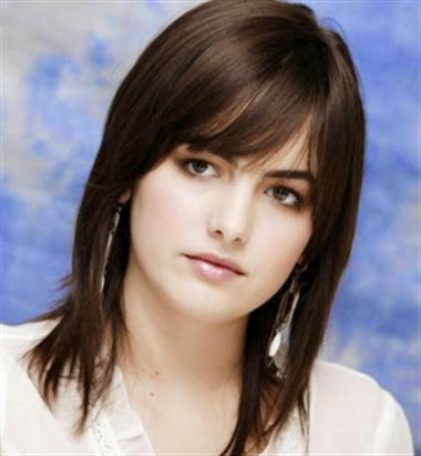 Round Face Hairstyles 2015