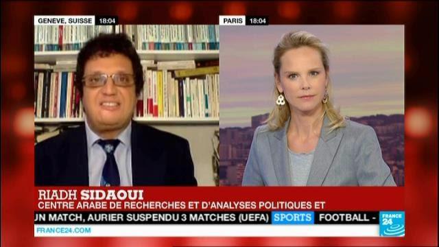 Riadh Sidaoui à France 24:  L'attentat de Bardo: Enjeux et Objectifs des terroristes