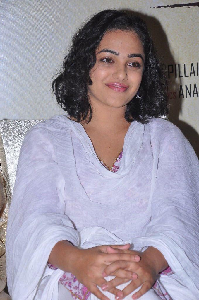 Nithya menon photos at malini 22 press meet