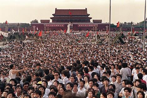 Protesta Plaza de Tiananmén
