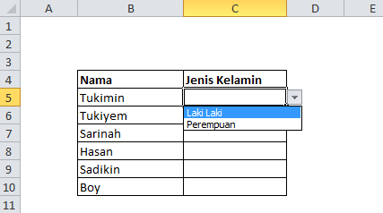 Cara Membuat Drop Down List Pada Microsoft Office Excel | Belajar Excel | Tutorial Excel