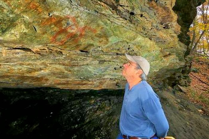 TN cave, rock art offers prehistoric perspectives