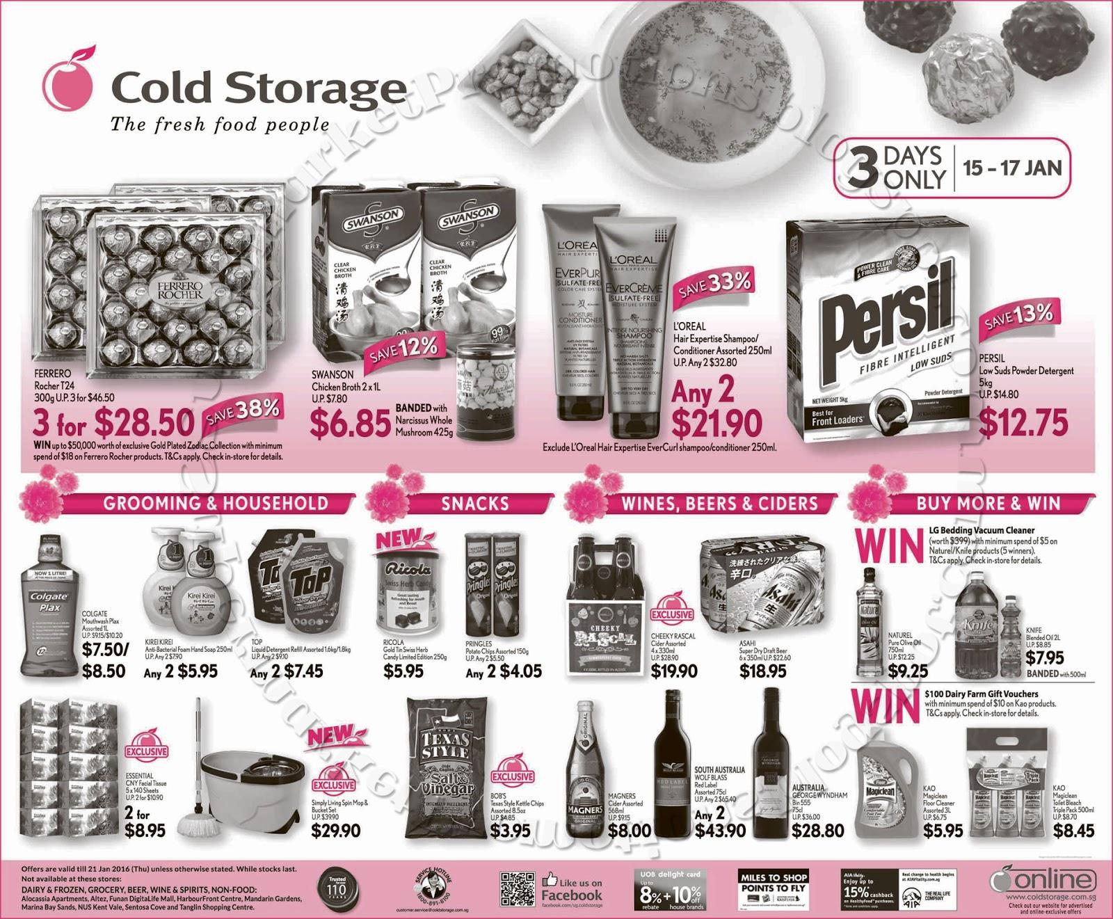 Cold Storage Promotion 15 21 January 2016 Supermarket  sc 1 st  Listitdallas & Dairy Farm Cold Storage - Listitdallas