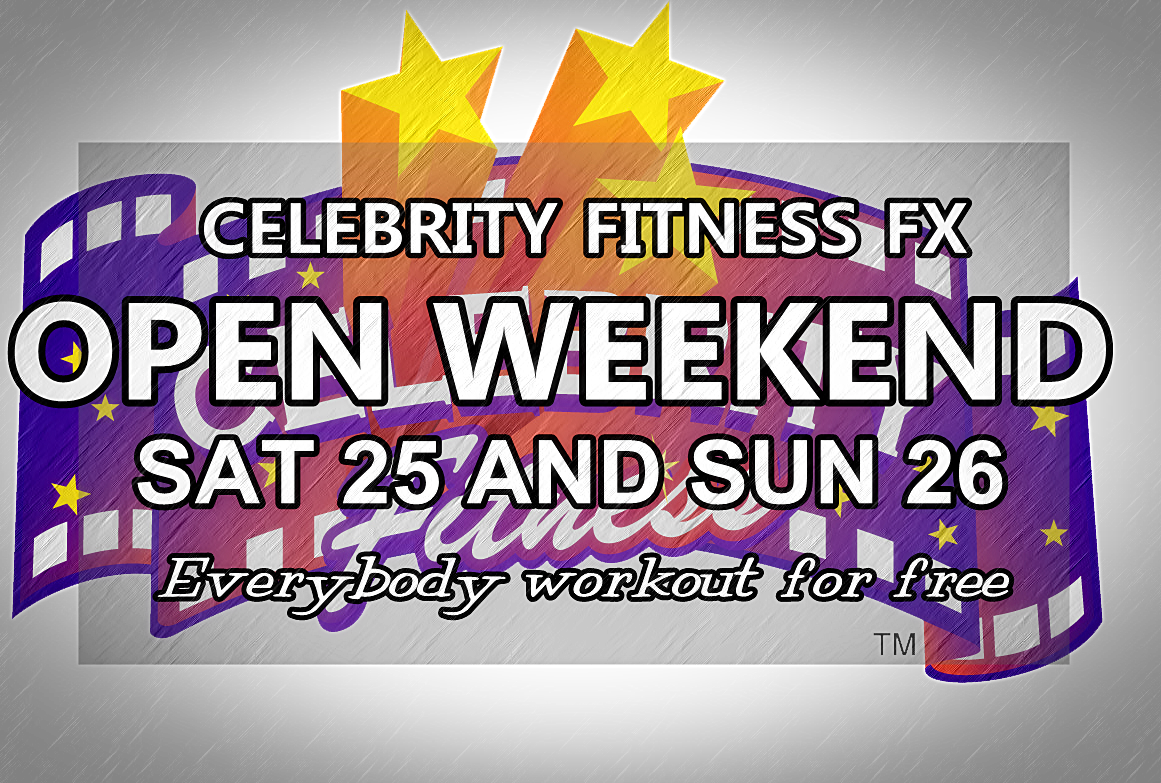 CLUB ACTIVATION EVENT ~ CELEBRITY FITNESS FX