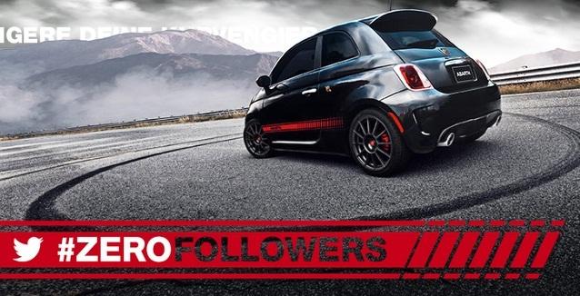 Social Media Marketing: campaña #zerofollowers campaign