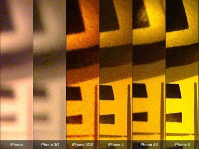 iPhone 5 Camera Image Quality Check with Old iPhone Models