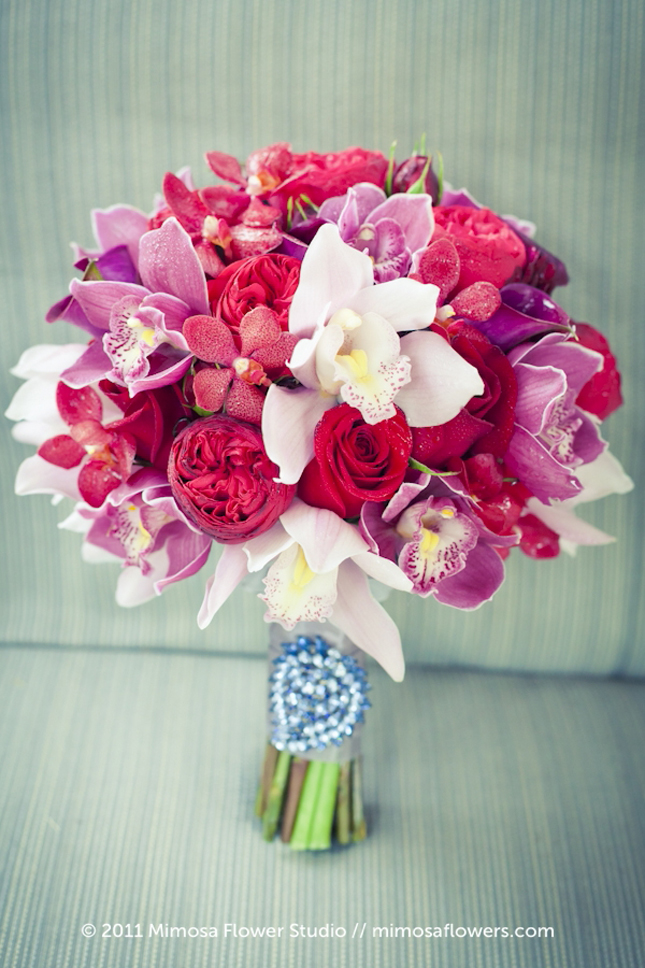 Bridal Bouquets Pink And White : Gallery for gt pink september wedding flowers