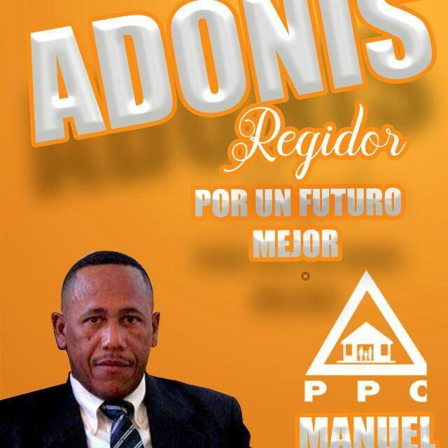Manuel Adonis Benitez, Regidor PPC.