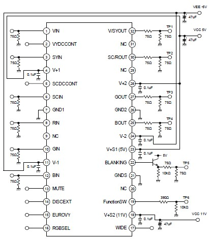 Temperature Indicator besides 480v Plug Wiring Diagram together with Simple 4 Channel Video  lifier Using together with Octopus Wiring Diagram besides Oscilloscope Test Circuits. on octopus curve tracer circuit diagram