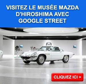 Musée Mazda d'Hiroshima avec Google Street