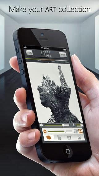 تحميل برنامج Exbel لتعديل ودمج الصور للايفون