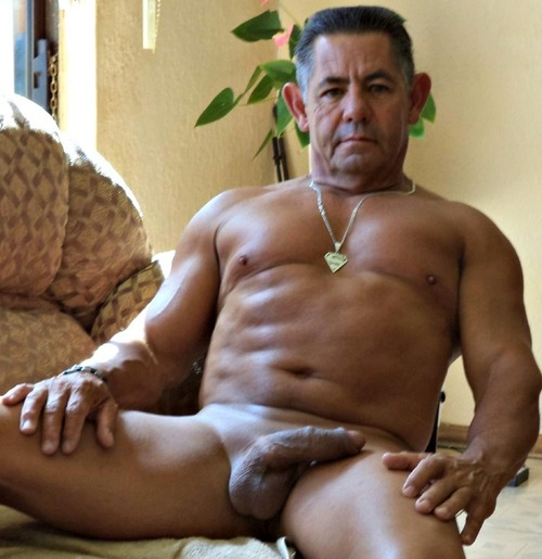 Older gay big latino cock