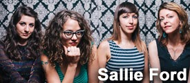 Sallie Ford at Mississippi Studios in Portland on March 7